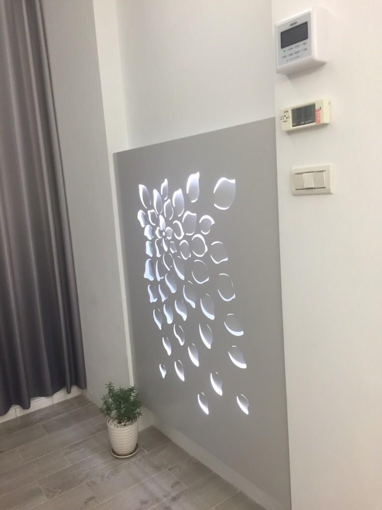 造型葉子壁燈